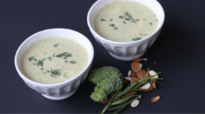 Broccoli Tarragon Almond Soup Recipe, Broccoli Tarragon Almond Soup