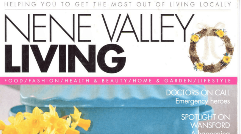 , As featured in Nene Valley Living