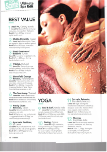 , 100 best spas in the world by Top Sante