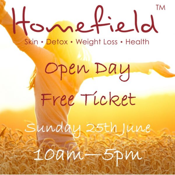 Homefield Open Day ticket image
